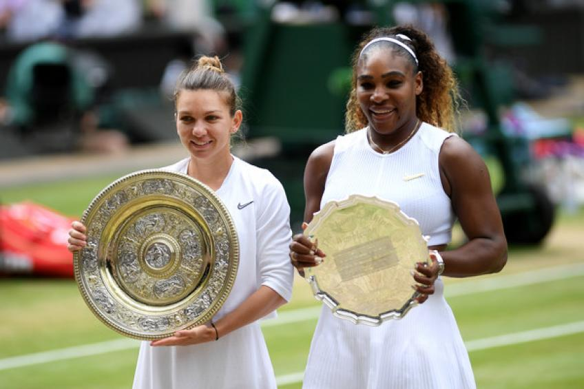 Simona Halep: 'I didn't dare to think I would be among Wimbledon champions'