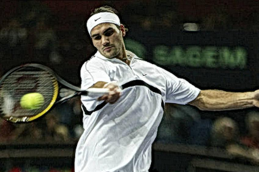 In Roger Federer's words: 'Andy Roddick is in the better position than me'