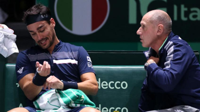 Coach Corrado Barazzutti: Fabio Fognini set to return to training, no tennis in US