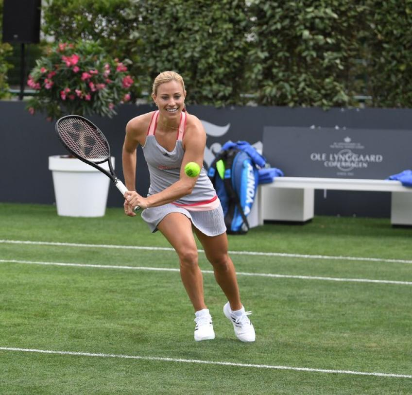 Angelique Kerber & other Germans officially open the main court of Bad Homburg Open