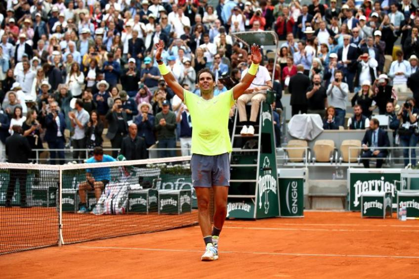 'Training with Rafael Nadal is the best...', says his sparring partner