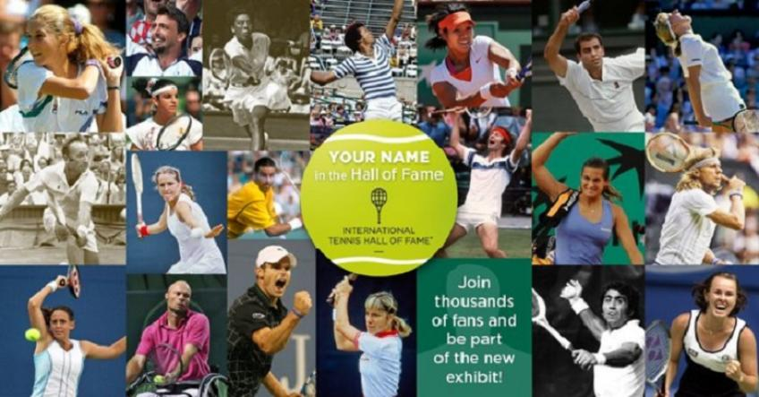 Tennis Hall of Fame launches 'Your Name in the Hall of Fame' fundraising campaign