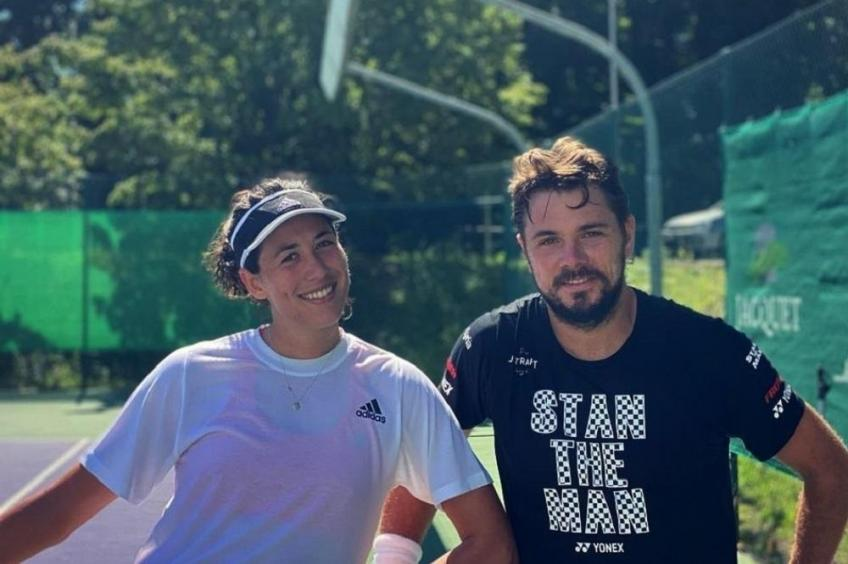 Are Stan Wawrinka and Garbine Muguruza in a relationship?