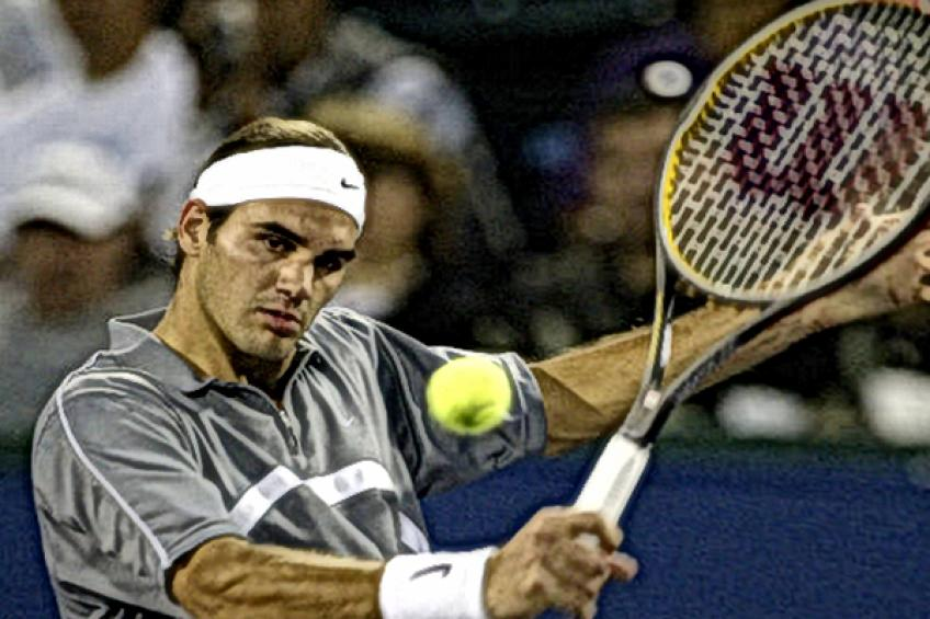Roger Federer:'It feels good to beat David Nalbandian for the first time'