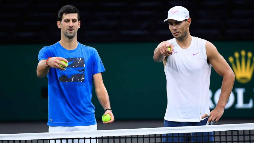 'Things were going badly for Novak Djokovic and Rafael Nadal', says Brit player