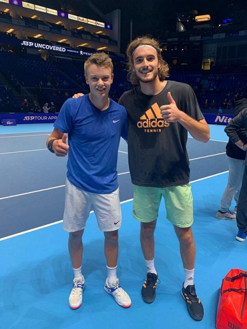 Tsitsipas On Rune I Remember Saying To My Coach That Here Was Something Special
