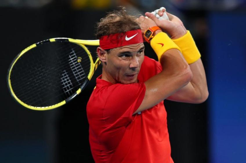 'I tried to do what Rafael Nadal does to his opponents', says Australian star