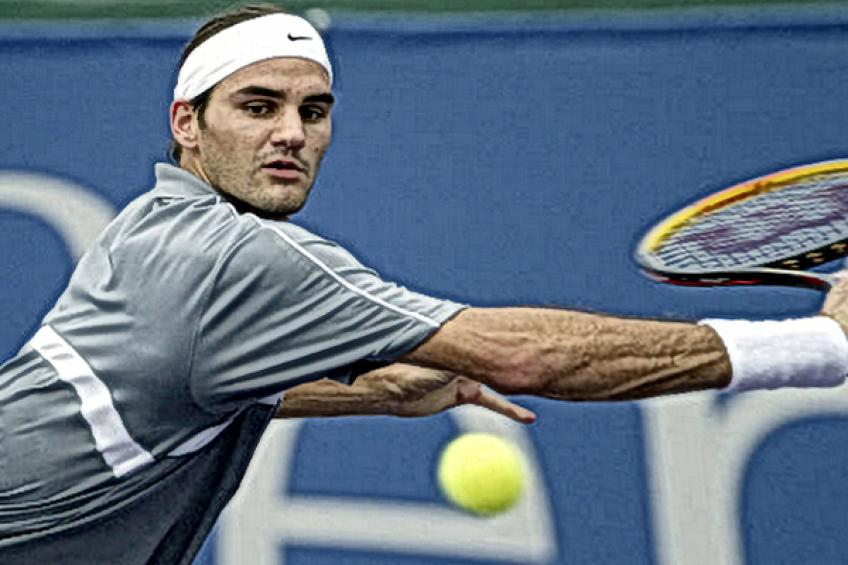 Roger Federer at the end of 2003:'I'm happy the season is ending nicely'