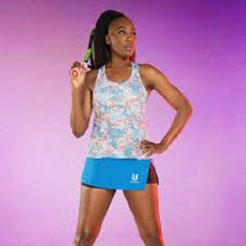 Venus Williams launches her latest tennis collection