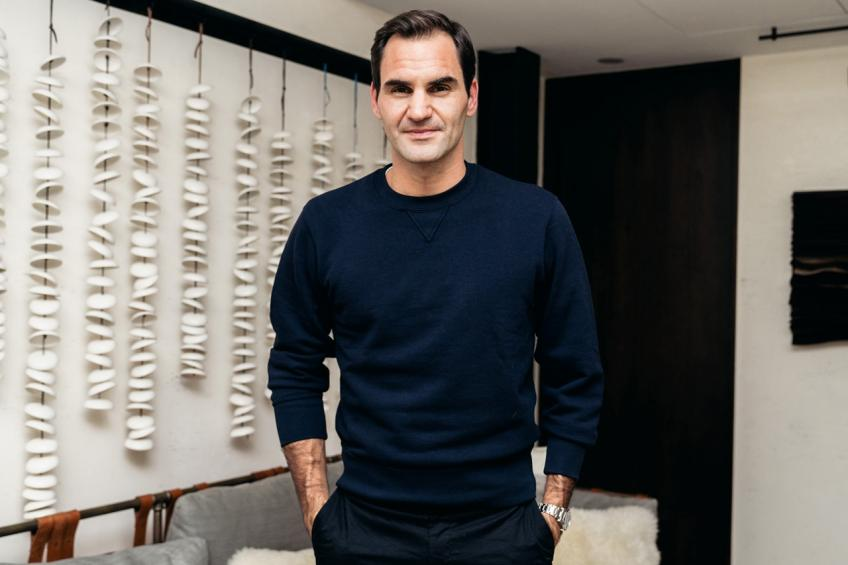'Roger Federer is the most interviewed athlete in the world', says American player