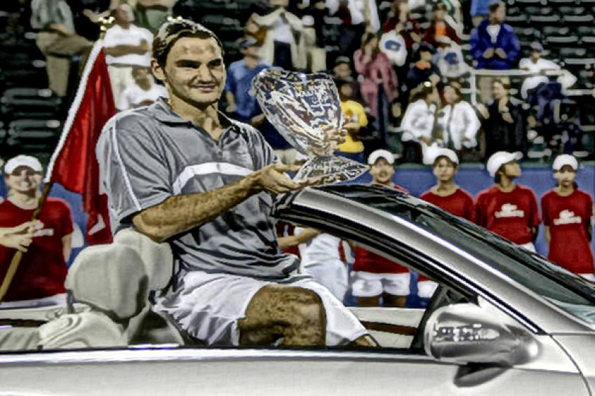 In Roger Federer's words: 'It feels incredible to win a Major and become world No. 2'