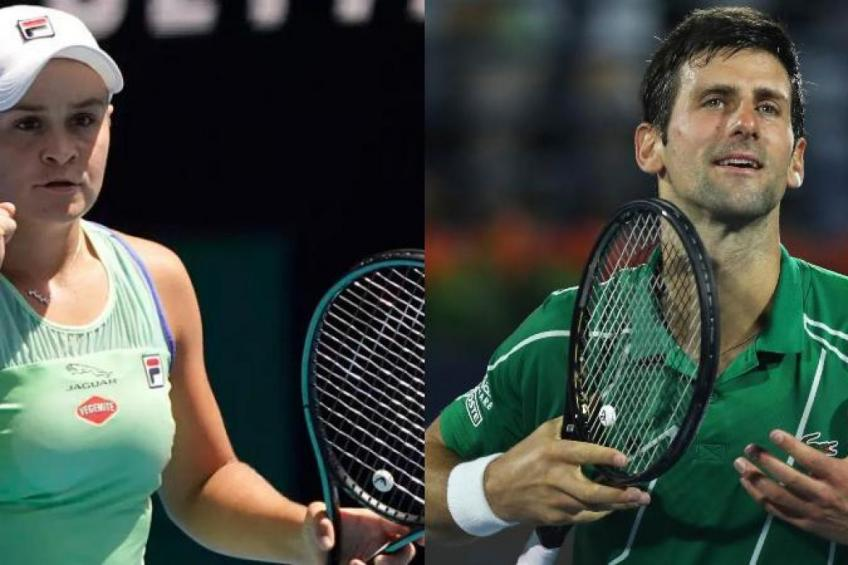 Novak Djokovic and Ash Barty set their sights on Olympic gold medal