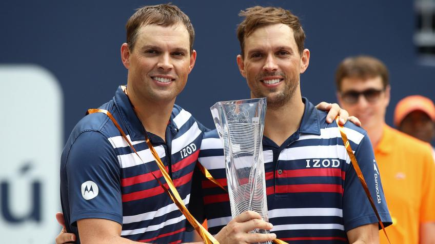 Mike Bryan: 'You've got to be crazy to be around someone like this for this long'
