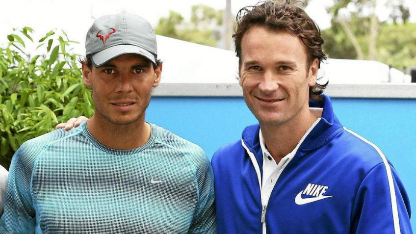 Carlos Moya: it's easy to train Rafael Nadal