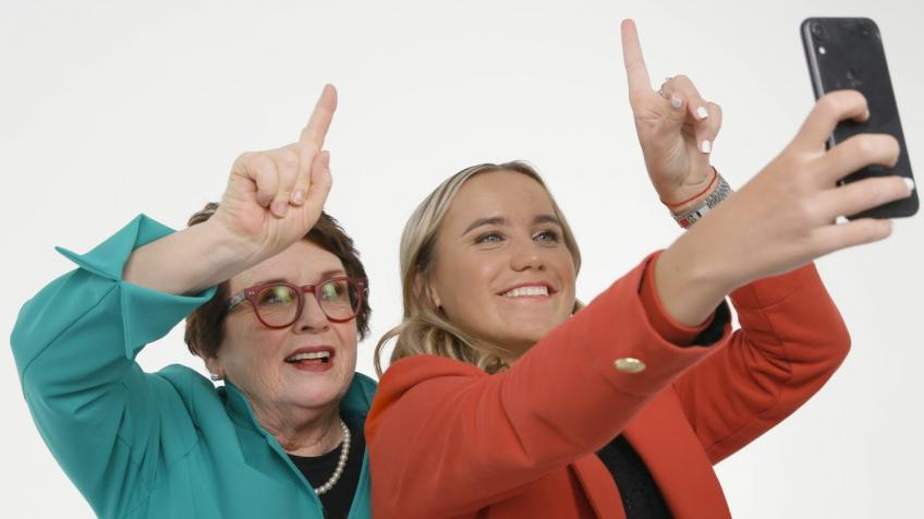 Sofia Kenin: Billie Jean King really inspires me and I really look up to her