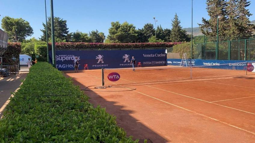 WTA Palermo into panic: a player is positive to the swab!