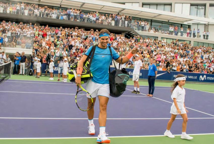 'Rafael Nadal is attentive to all details, nothing is left to chance', says coach