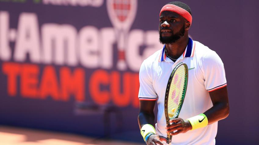 Frances Tiafoe gives up on trying to figure out where he contracted virus