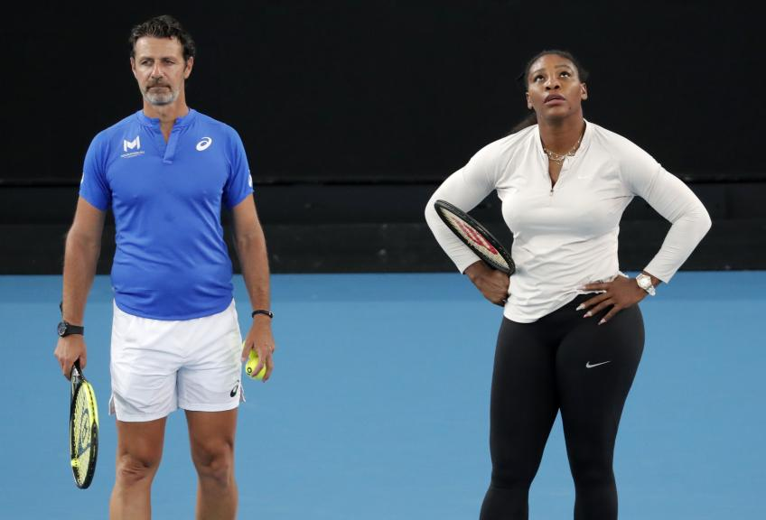 Patrick Mouratoglou: Serena Williams is practising every day, very seriously