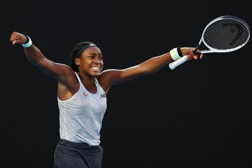 Coco Gauff: winning at tennis is about skill and not gender