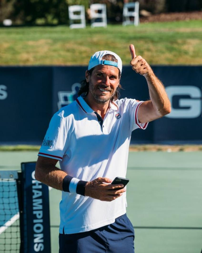 Tommy Haas wins eighth career Champions Tennis Series title