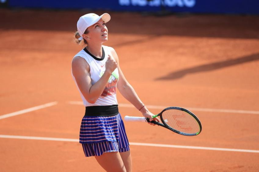 Simona Halep: 'I'm here to try to be aggressive and win every match'