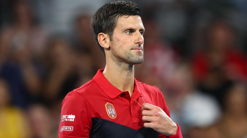 Brad Gilbert:If Novak Djokovic is 100% healthy, on this surface,he's a huge favourite