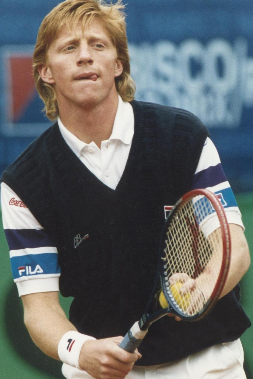 Boris Becker says this player has the purest serve in tennis today