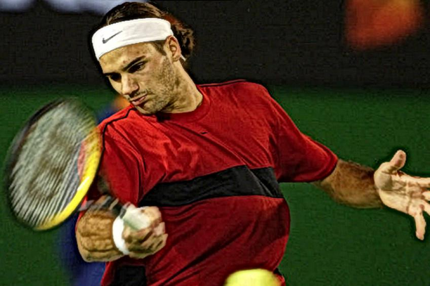 Young Roger Federer: 'I can not predict the future, but I want to keep the throne..'