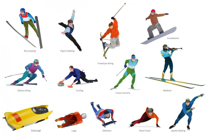 The Winter sports that you should try out!