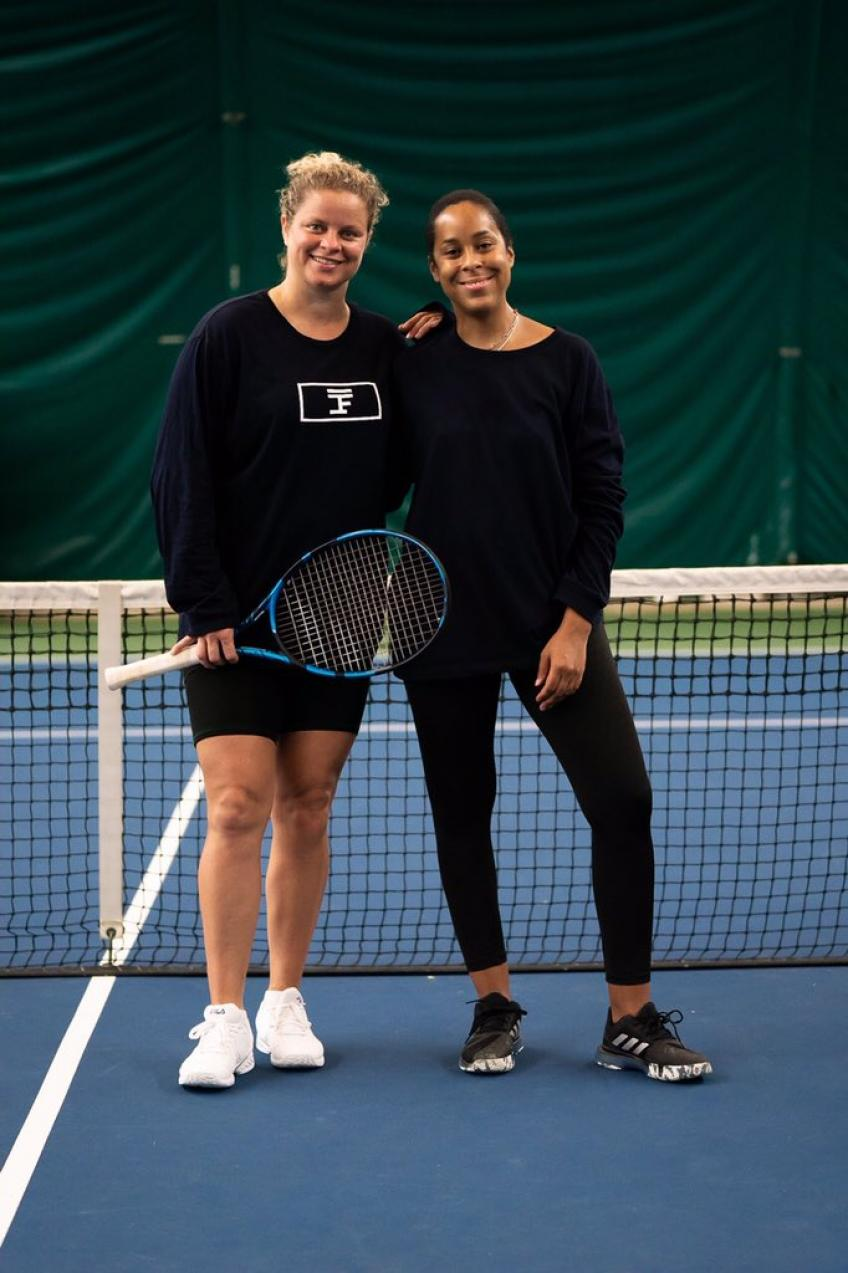 Kim Clijsters excited to be wearing Full Court Sport brand in New York