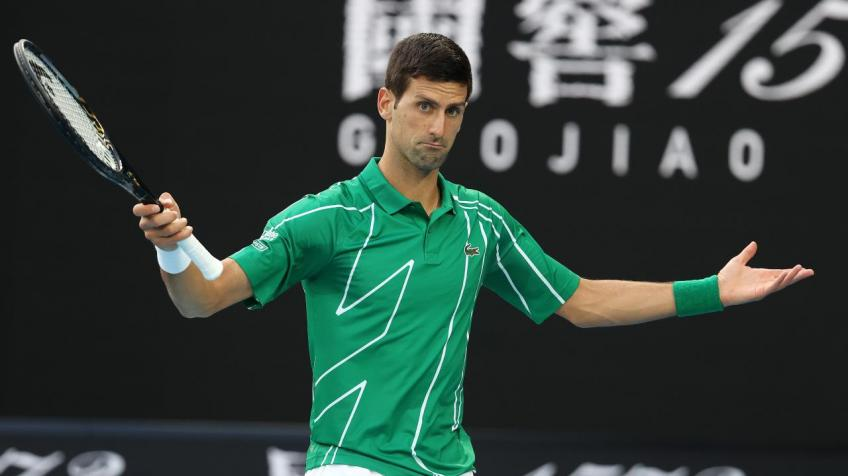 Novak Djokovic pulls out of doubles match with neck pain