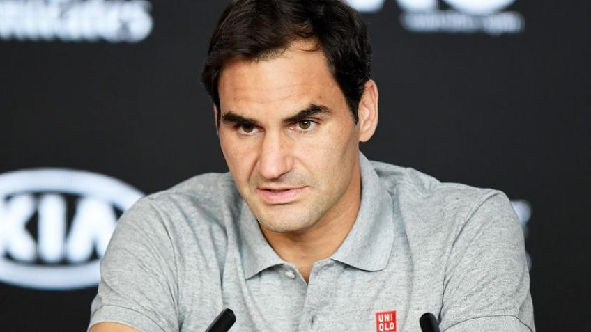 'Imagine how much pressure Roger Federer has', says young star