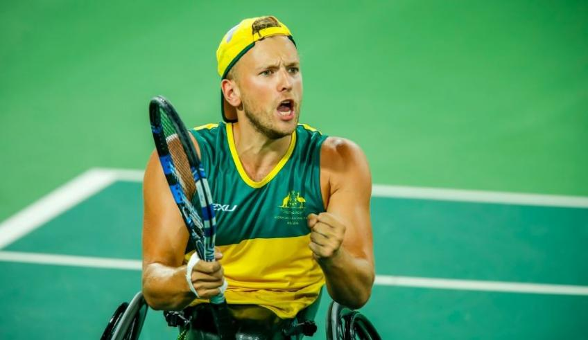 Dylan Alcott looking forward to the Paralympic Games in Tokyo next year
