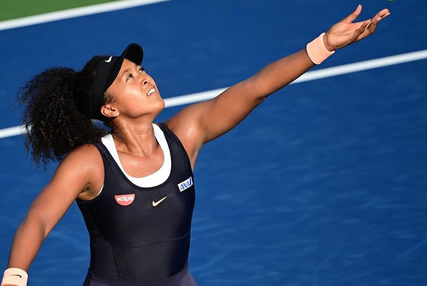 Western & Southern Open: Defending champ Madison Keys upset, Naomi Osaka survives