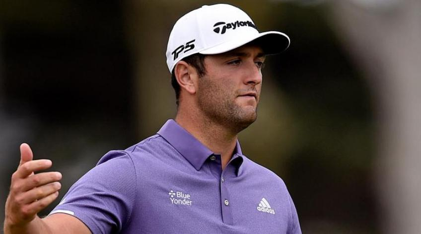 Jon Rahm makes rookie mistake at BMW Championship