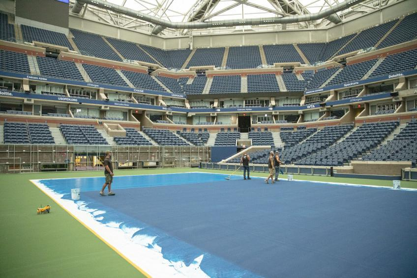 Here is how the speed of the courts of the US Open changes with the new surface