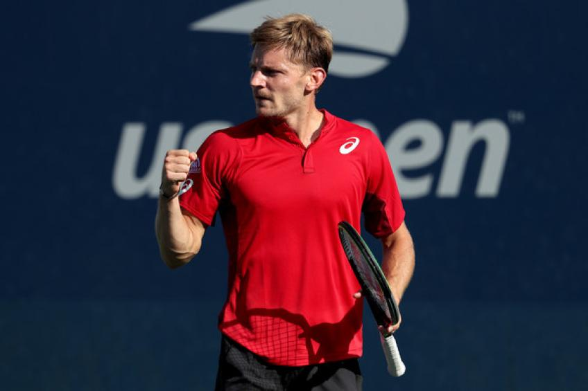 David Goffin: Playing without fans did me advantage against Reilly Opelka