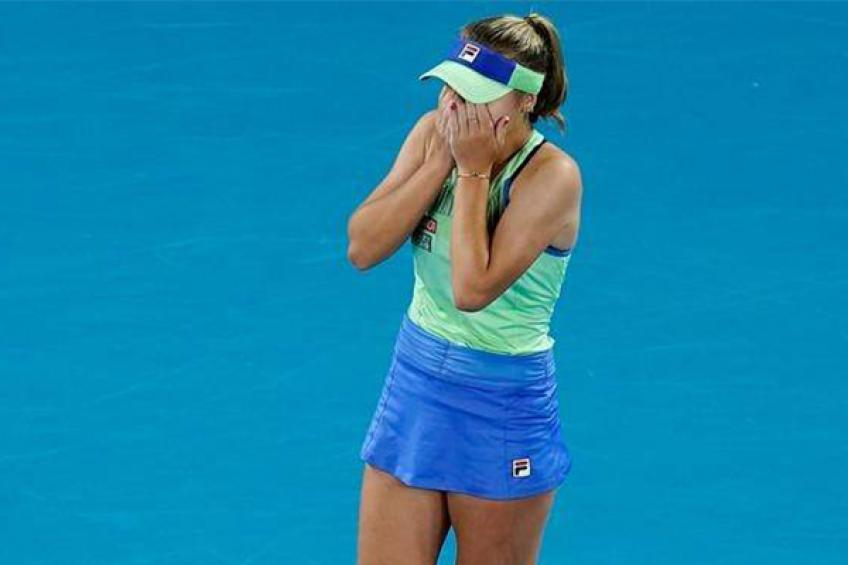 """Sofia Kenin cries before her Grand Slam matches: """"In Australian Open… it worked"""""""