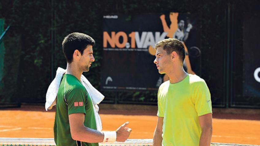Novak Djokovic not surprised at all by Filip Krajinovic's rise and success