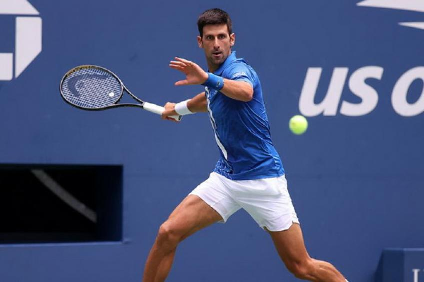 Novak Djokovic moves closer to Roger Federer and away from Ivan Lendl in New York