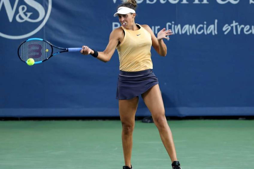 Madison Keys: Looking forward to getting better as the tournament goes on