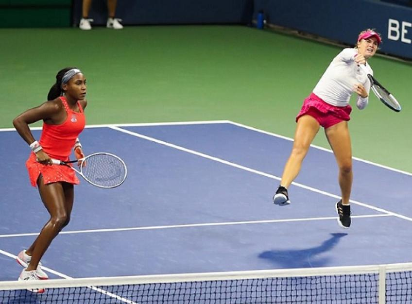 Coco Gauff and Caty McNally go down to the No. 3 seeds in US Open doubles