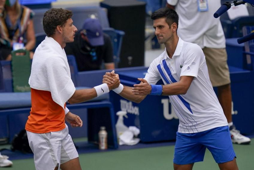 Pablo Carreno Busta Gives His Thoughts On Novak Djokovic Us Open Default