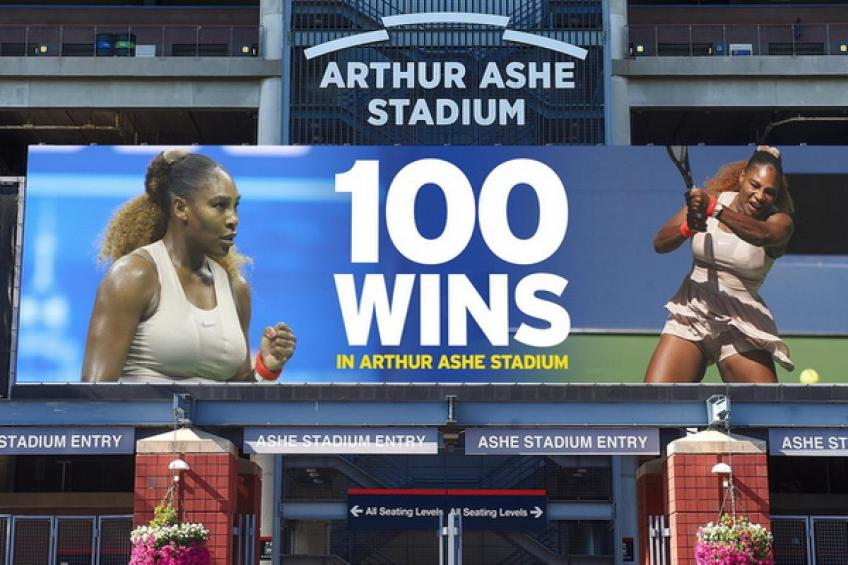 Serena Williams earns massive Arthur Ashe Stadium milestone