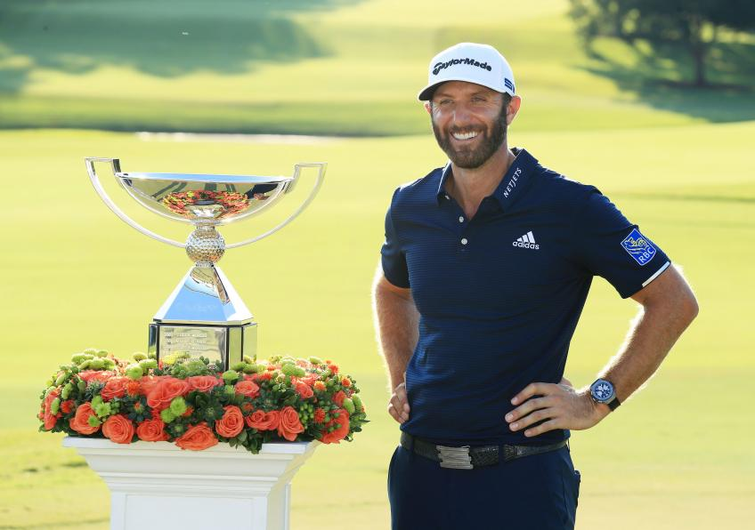 Dustin Johnson swings his way to FedExCup title, $15 million prize