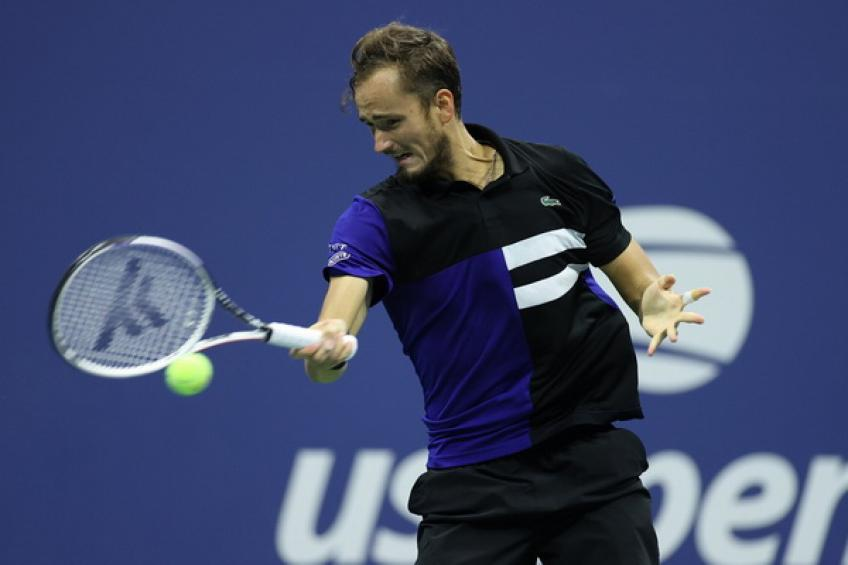 ATP US Open: Daniil Medvedev storms over Frances Tiafoe to remain on title course