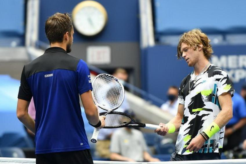 ATP US Open: Daniil Medvedev downs Andrey Rublev in an all-Russian clash