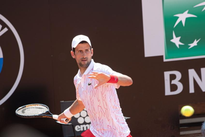 Novak Djokovic matches Roger Federer's Masters 1000 numbers on clay
