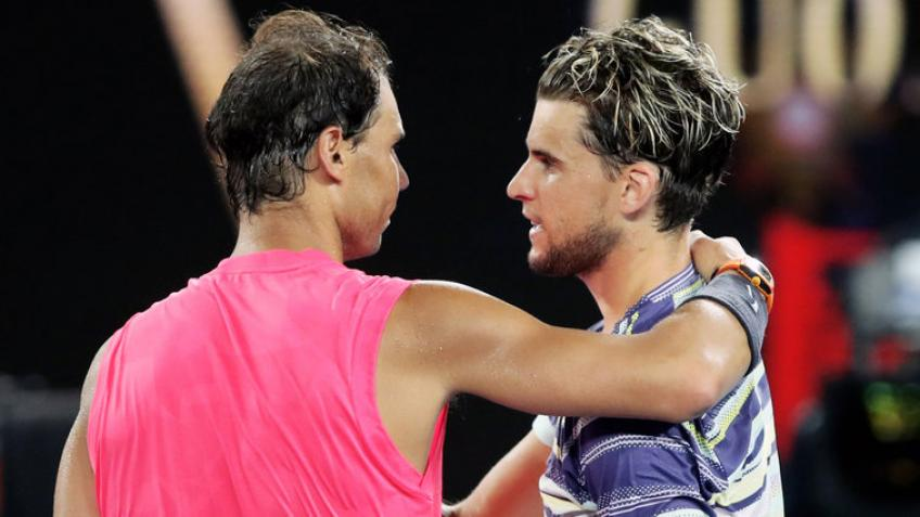 Rafael Nadal: I'm happy for Dominic Thiem, he deserved to win big title